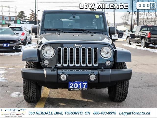 2017 Jeep Wrangler Unlimited Sahara (Stk: T11631A) in Etobicoke - Image 2 of 23