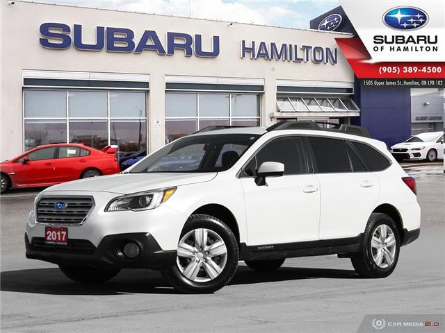 2017 Subaru Outback 2.5i (Stk: U1537) in Hamilton - Image 1 of 28