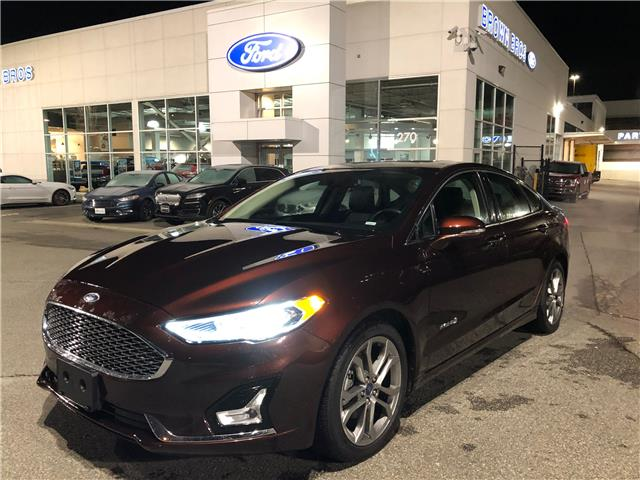 2019 Ford Fusion Hybrid Titanium 3FA6P0RU5KR191158 OP2034 in Vancouver