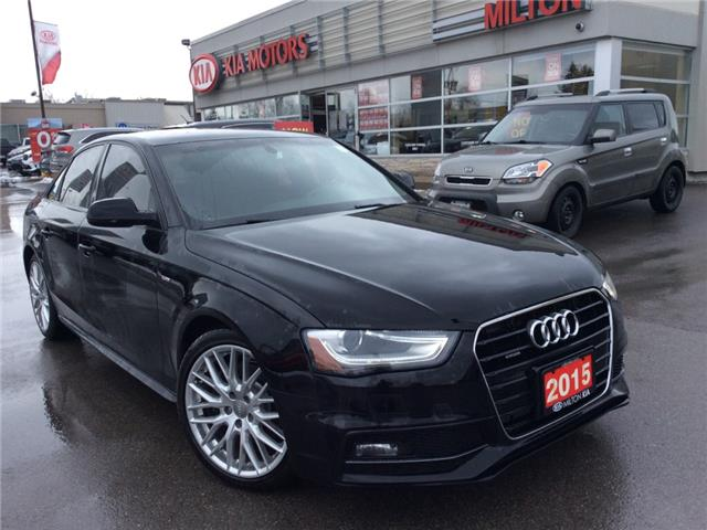 2015 Audi A4  (Stk: P0131) in Milton - Image 1 of 17