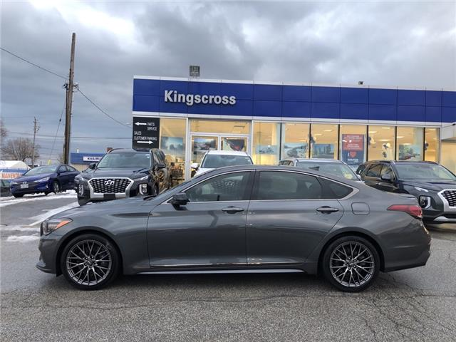 2019 Genesis G80 3.3T Sport (Stk: 29227A) in Scarborough - Image 1 of 16