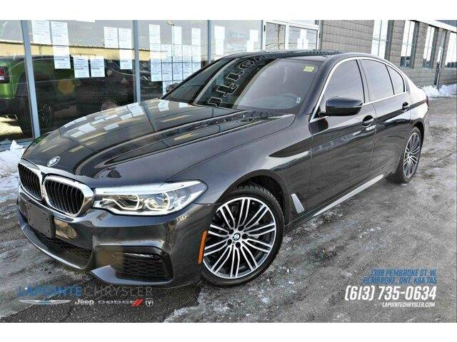 2019 BMW 530i xDrive (Stk: P3543) in Pembroke - Image 1 of 28