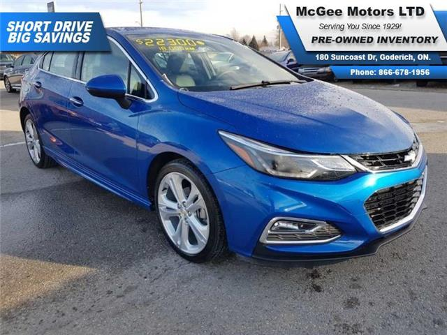2018 Chevrolet Cruze Premier Auto (Stk: A622870) in Goderich - Image 1 of 27