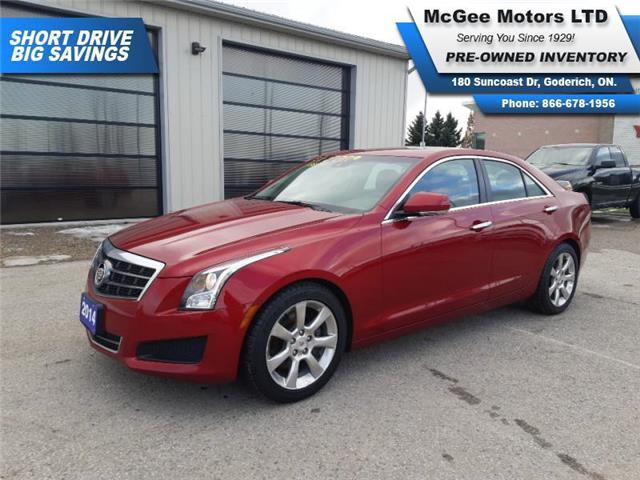 2014 Cadillac ATS 2.0L Turbo Luxury (Stk: 108814) in Goderich - Image 1 of 28