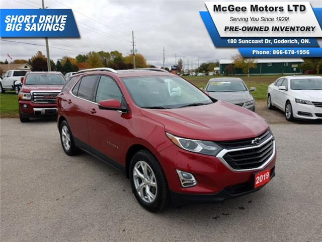 2019 Chevrolet Equinox LT (Stk: A210225) in Goderich - Image 1 of 30