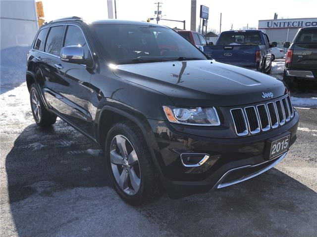 2015 Jeep Grand Cherokee Limited (Stk: 19403B) in Cornwall - Image 1 of 29