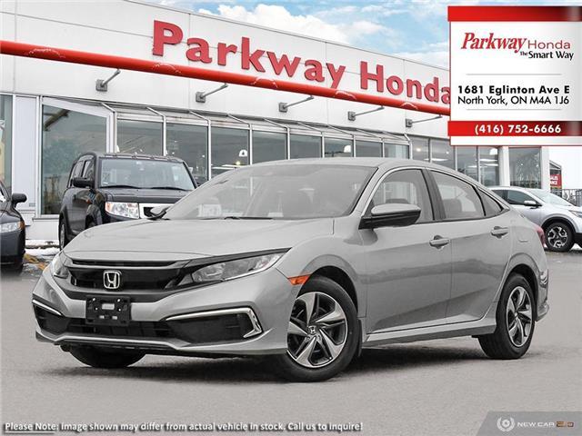 2020 Honda Civic LX (Stk: 26187) in North York - Image 1 of 23