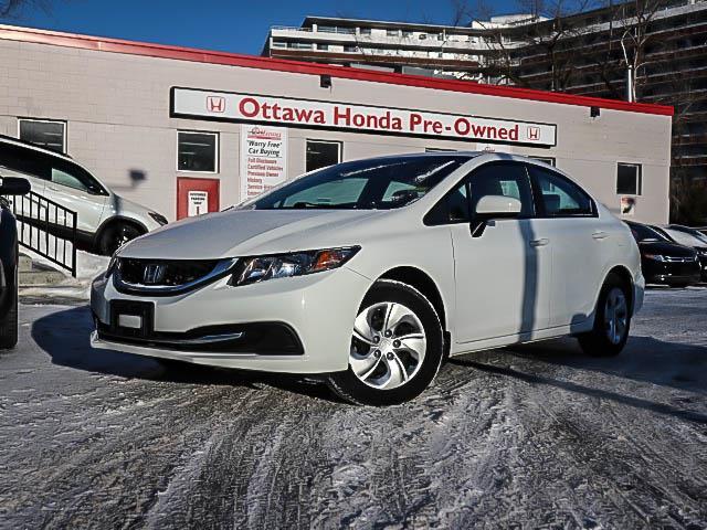 2015 Honda Civic LX (Stk: H81640) in Ottawa - Image 1 of 26