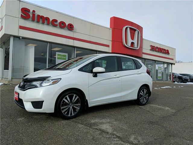 2017 Honda Fit SE (Stk: 19169A) in Simcoe - Image 1 of 15