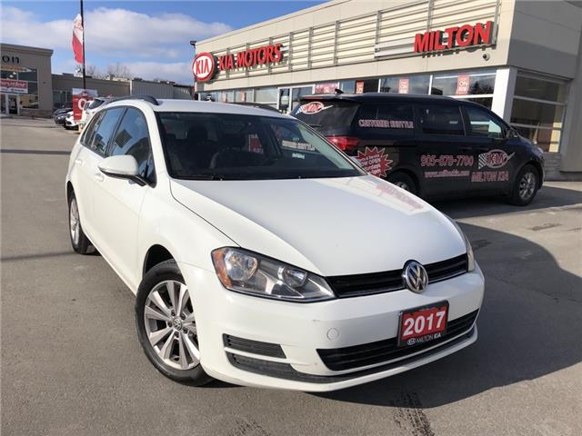 2017 Volkswagen Golf SportWagen 1.8 TSI Trendline (Stk: P0167) in Milton - Image 1 of 15