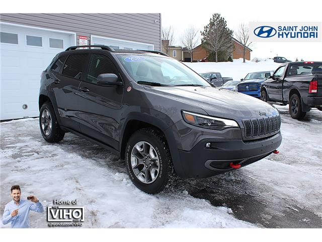 2019 Jeep Cherokee Trailhawk (Stk: U2491) in Saint John - Image 1 of 22