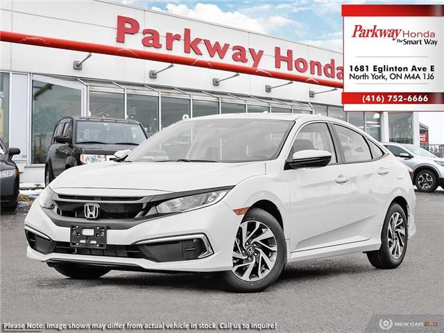 2020 Honda Civic EX (Stk: 26154) in North York - Image 1 of 23
