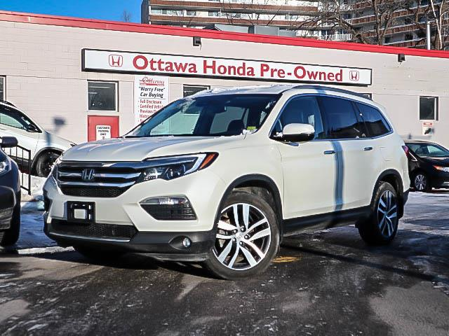 2018 Honda Pilot Touring (Stk: H81600) in Ottawa - Image 1 of 28