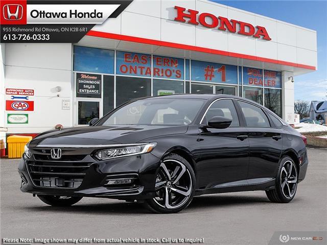 2020 Honda Accord Sport 1.5T (Stk: 329230) in Ottawa - Image 1 of 23
