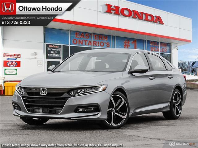 2020 Honda Accord Sport 1.5T (Stk: 329240) in Ottawa - Image 1 of 23