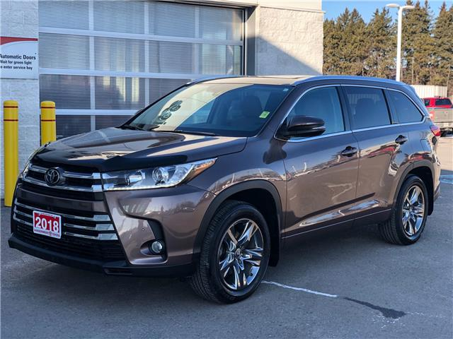 2018 Toyota Highlander Limited (Stk: W5005) in Cobourg - Image 1 of 28