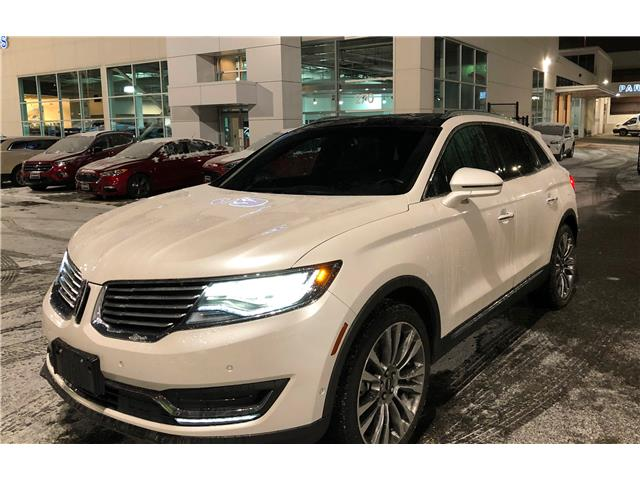 2016 Lincoln MKX Reserve 2LMPJ8LP0GBL21399 206327A in Vancouver