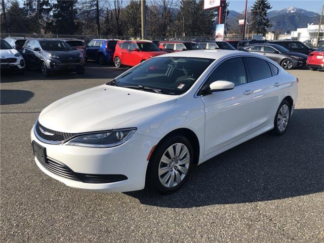 2016 Chrysler 200 LX (Stk: K93-1907A) in Chilliwack - Image 1 of 16