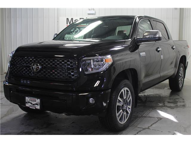 2020 Toyota Tundra Platinum (Stk: X913291) in Winnipeg - Image 1 of 23