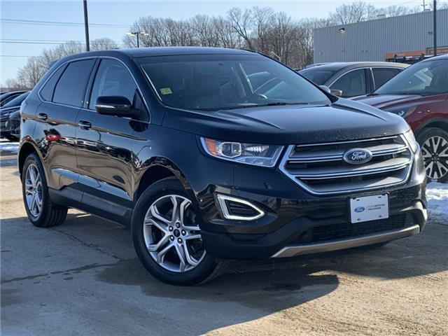 2016 Ford Edge Titanium (Stk: 19T1245A) in Midland - Image 1 of 19