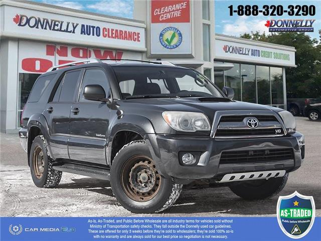 2006 Toyota 4Runner SR5 V8 (Stk: PBWDS1806A) in Ottawa - Image 1 of 29