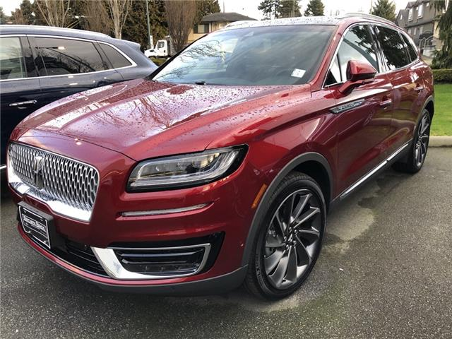 2019 Lincoln Nautilus Reserve 2LMPJ8LP2KBL66420 1961113 in Vancouver