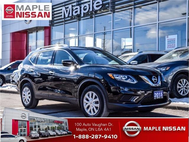 2015 Nissan Rogue S|Bluetooth|Backup Camera|Roof Rails|Keyless Entry (Stk: UM1700) in Maple - Image 1 of 23