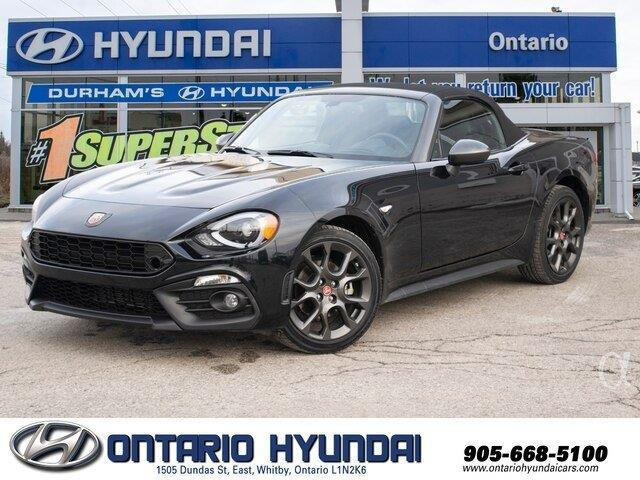 2017 Fiat 124 Spider Abarth (Stk: 13110K) in Whitby - Image 1 of 21