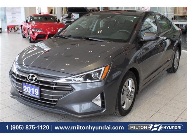 2019 Hyundai Elantra Preferred (Stk: 869378) in Milton - Image 1 of 38