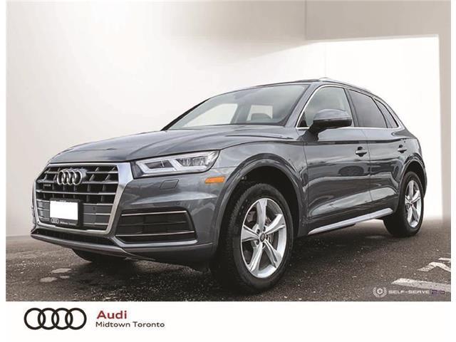 2020 Audi Q5 45 Progressiv (Stk: AU8007) in Toronto - Image 1 of 22