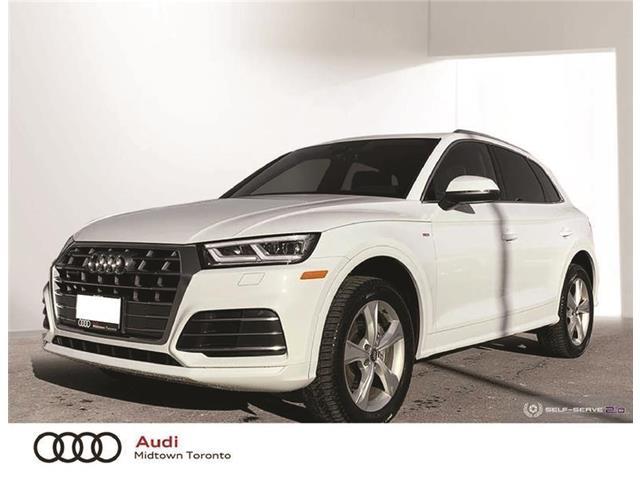 2020 Audi Q5 45 Progressiv (Stk: AU8163) in Toronto - Image 1 of 22