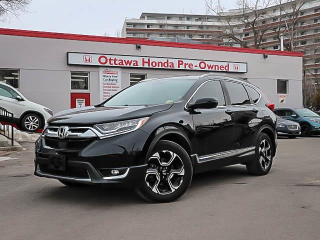 2017 Honda CR-V Touring (Stk: H81680) in Ottawa - Image 1 of 27