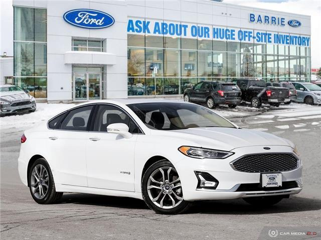 2019 Ford Fusion Hybrid Titanium (Stk: 6519R) in Barrie - Image 1 of 27