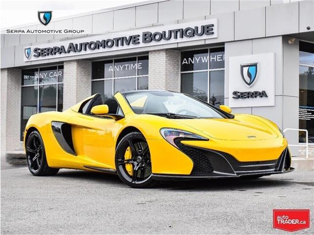 2015 McLaren 650S Spider (Stk: P1212) in Aurora - Image 1 of 28