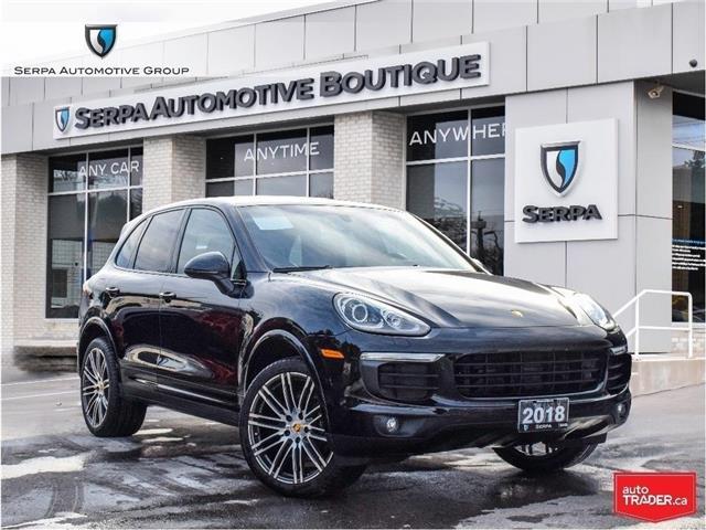 2018 Porsche Cayenne Platinum Edition (Stk: P1333A) in Aurora - Image 1 of 30