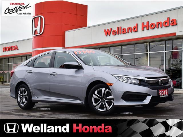 2017 Honda Civic LX (Stk: U20121) in Welland - Image 1 of 20