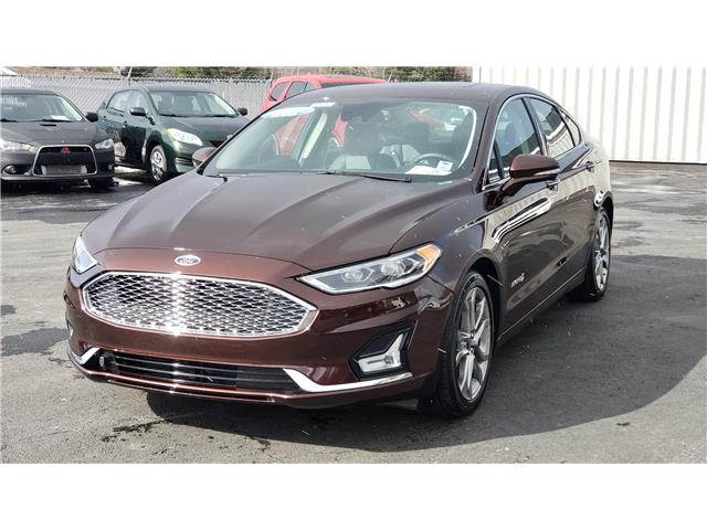 2019 Ford Fusion Hybrid Titanium 3FA6P0RU2KR227565 10692 in Lower Sackville