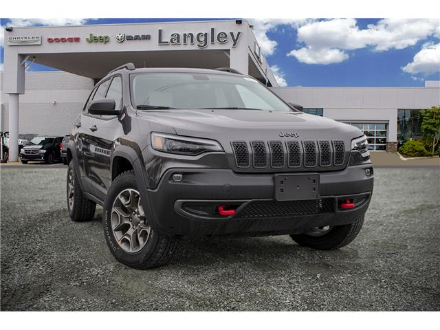2020 Jeep Cherokee Trailhawk (Stk: L558656) in Surrey - Image 1 of 23