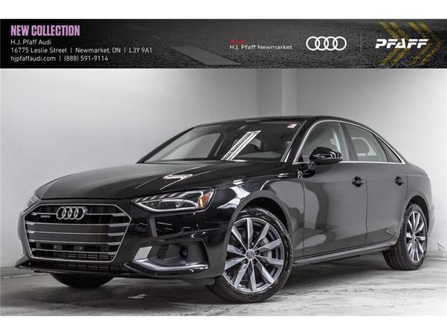 2020 Audi A4 2.0T Komfort (Stk: A13067) in Newmarket - Image 1 of 22