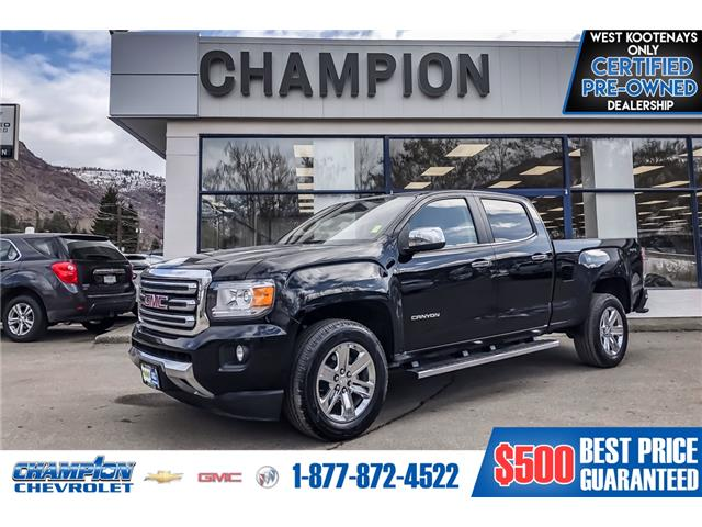 2018 GMC Canyon SLT (Stk: P20-78) in Trail - Image 1 of 19