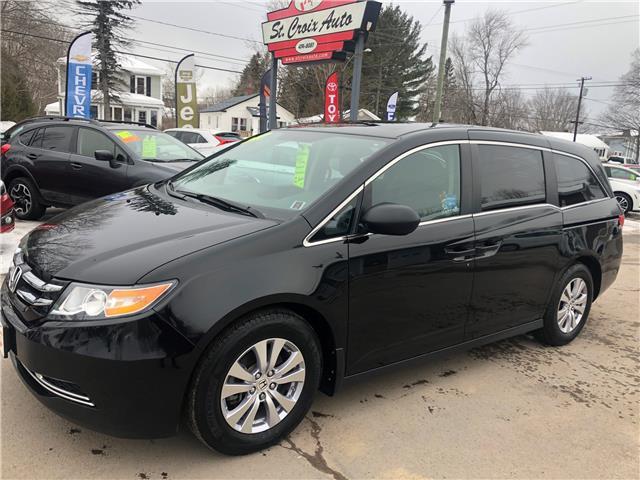 2017 Honda Odyssey SE (Stk: 02552p) in Fredericton - Image 1 of 8