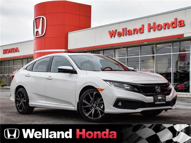 2020 Honda Civic Sport (Stk: N20163) in Welland - Image 1 of 31
