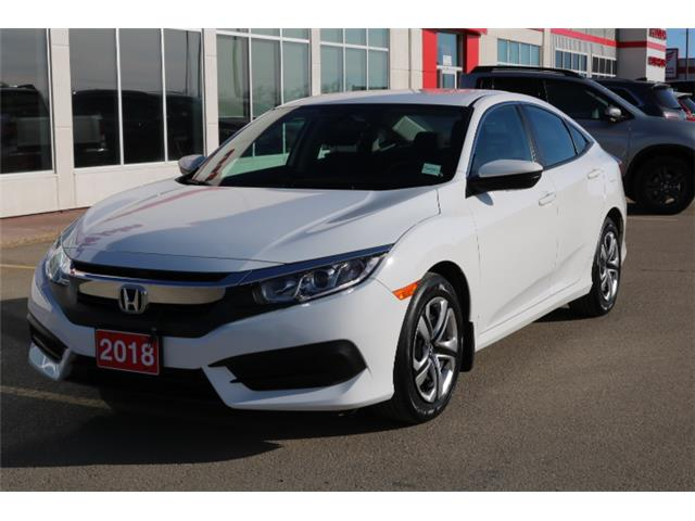 2018 Honda Civic LX (Stk: U1105) in Fort St. John - Image 1 of 19