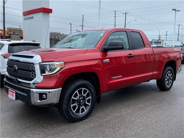 2018 Toyota Tundra SR5 Plus 5.7L V8 (Stk: TW113A) in Cobourg - Image 1 of 25