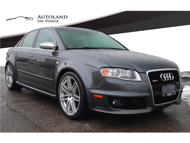2007 Audi RS 4 4.2L (Stk: 7N906723) in Thornhill - Image 1 of 27