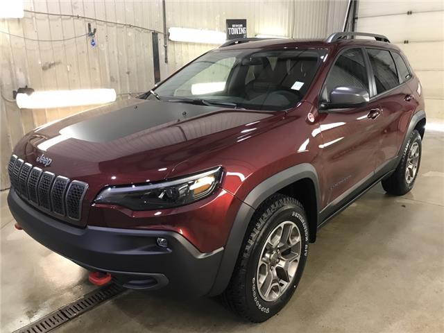 2020 Jeep Cherokee Trailhawk (Stk: LT007) in Rocky Mountain House - Image 1 of 24