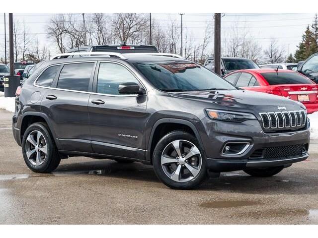 2019 Jeep Cherokee Limited (Stk: 27363URJ) in Barrie - Image 1 of 30