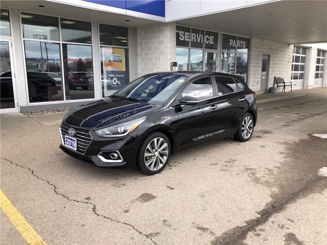 2019 Hyundai Accent Ultimate (Stk: P3176) in Smiths Falls - Image 1 of 8