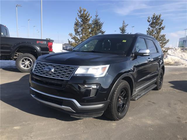 2018 Ford Explorer Platinum (Stk: R10781A) in Ft. Saskatchewan - Image 1 of 23