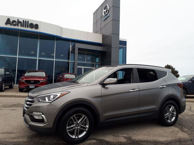 2018 Hyundai Santa Fe Sport Luxury (Stk: S102A) in Milton - Image 1 of 12